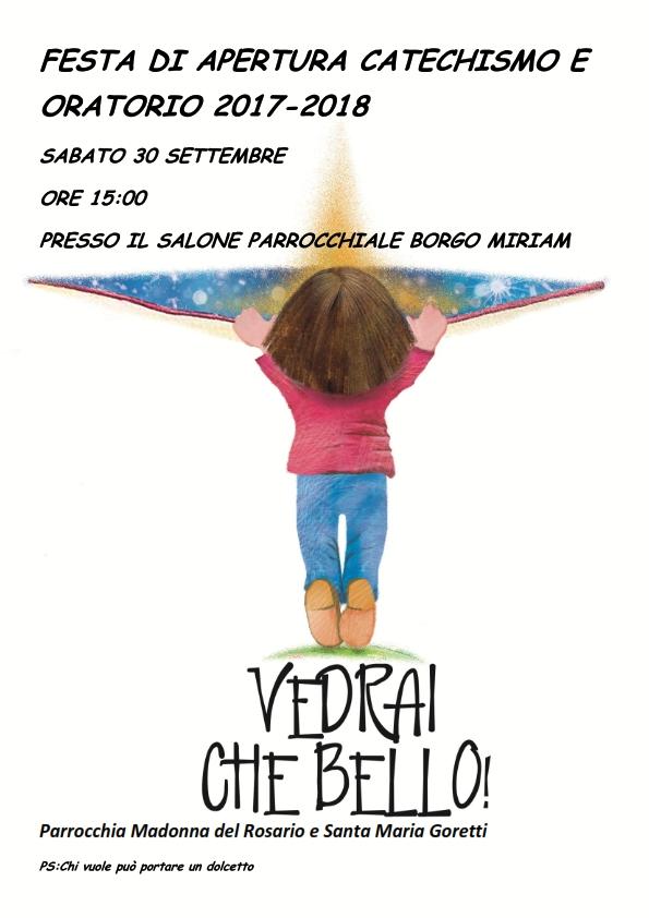 FESTA DI APERTURA CATECHISMO3 E ORATORIO 2017_001